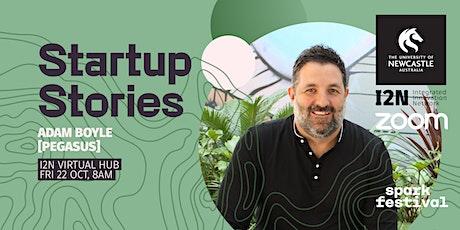 Startup Stories - Adam Boyle (Pegasus) tickets