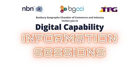 Digital Capability Information Sessions & Sundowner tickets