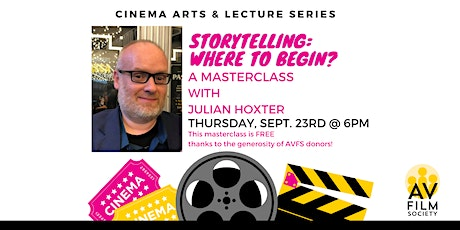 STORYTELLING: Where to Begin? A Masterclass with Julian Hoxter tickets