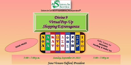 D-9 POP-UP SHOPPING EXTRAVAGANZA by SISTERS IN SERVICE FOUNDATION, INC tickets