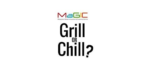 Virtual Grill or Chill Borneo Edition tickets