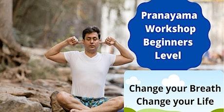 Pranayama - Beginners Level @Zoom tickets