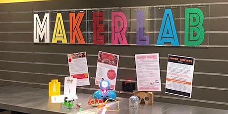 MakerLab - Woodcroft Library - Robot fun with Sphero, Ollie and Dash tickets