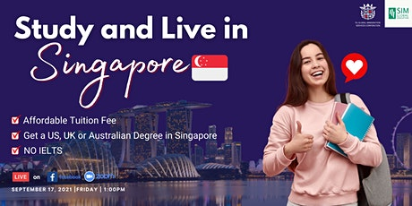 Study, Live and Work in SIngapore tickets
