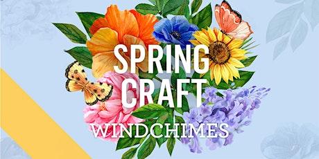 Spring Craft Workshops - Windchimes tickets