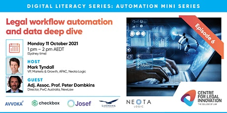 Automation Mini Series Ep 6 - Legal workflow automation and data deep dive entradas