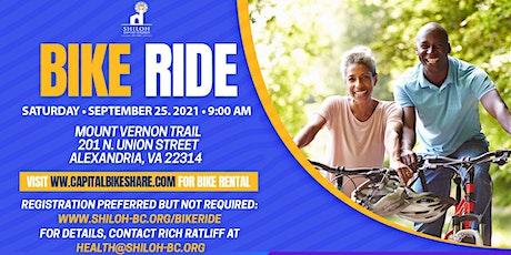 Shiloh Baptist Church Bike Ride tickets