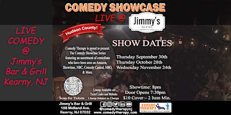 Comedy Therapy Showcase Live @ Jimmy's Bar & Grill - Oct 28th, 8pm tickets