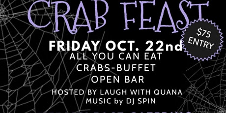 Halloween Crab Feast tickets