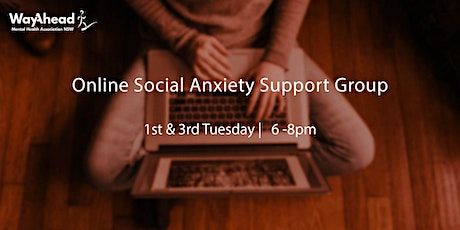 Social Anxiety Online Support Group tickets