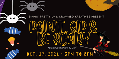 Paint, Sip & Be Scary tickets
