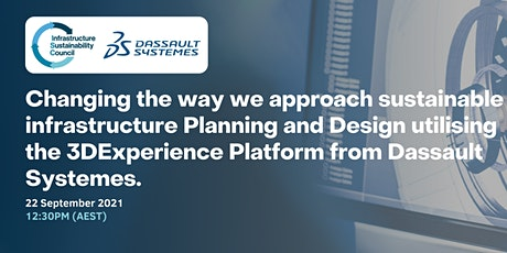 Changing the approach to sustainable infrastructure Planning and Design tickets