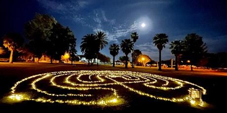 Virtual Full Moon Labyrinth Circle tickets