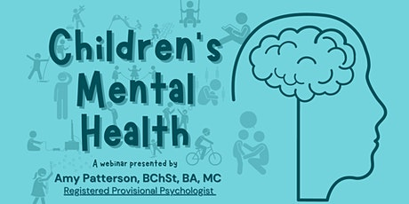 Children's Mental Health Webinar tickets