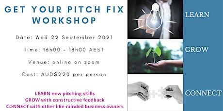 Get Your Pitch Fix Workshop tickets