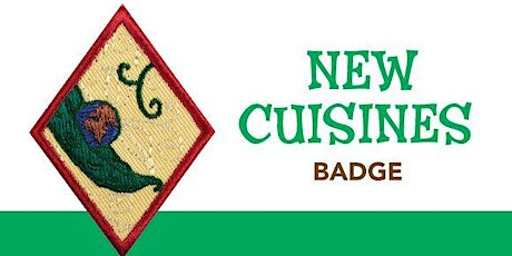 Cadettes New Cuisines cooking badge class tickets