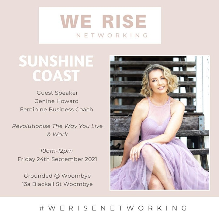 "Women  in Biz Sunshine Coast Sept ""Revolutionise The Way You Live & Work"" image"