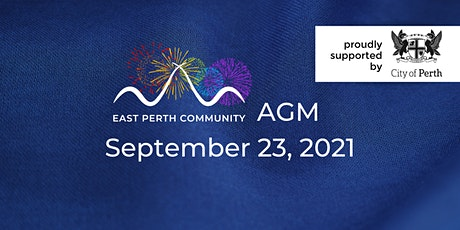 East Perth Community Group Annual General Meeting2021 tickets