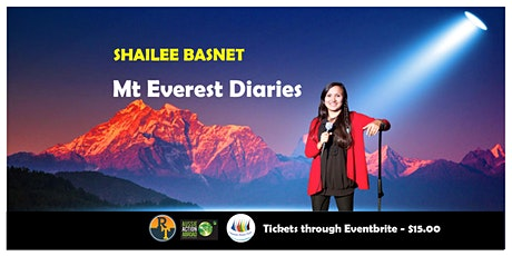 Shailee Basnet: Mt Everest Diaries (Everest Summiteer turned Comedian) boletos