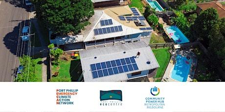 Port Phillip's partnership with the Metro Community Power Hub tickets