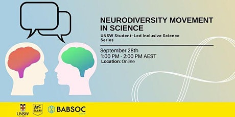 Neurodiversity Movement in Science - UNSW Science EDI x BABSOC tickets