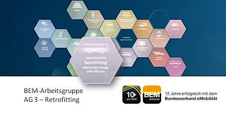 BEM-AG 3 - Retrofitting - eBusse & eNutzfahrzeuge | September 2021 Tickets