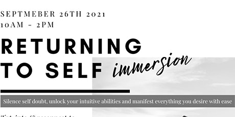 Returning to self workshop tickets