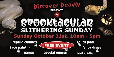 Spooktacular Slithering Sunday tickets