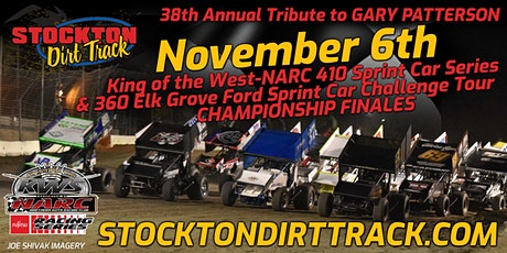Nov 6th KWS-NARC 410 & SCCT 360 Sprint Car Championship Finales tickets