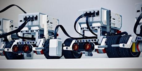 USC  Moreton Bay School Holiday Program: Beginner EV3 Robotics (8-11 yrs) tickets