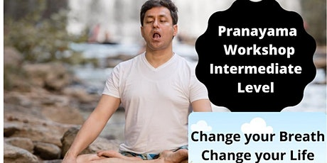 Pranayama - Intermediate Level @Zoom tickets