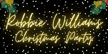 3-Course Festive Meal & Party With Robbie Williams Tribute in our Ballroom tickets