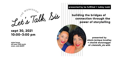 Let's Talk Sis The Workshop tickets