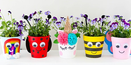 Paint your own garden pot - Noarlunga Library tickets