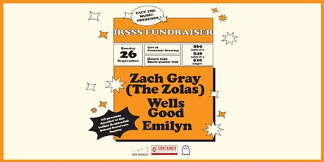 Face the Music and Container Brewing Present: An IRSSS Fundraiser tickets