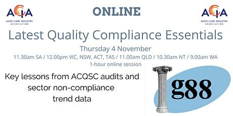 Latest Quality Compliance Essentials tickets