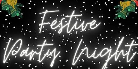 Fantastic Festive Party Night with 2-Course Meal tickets