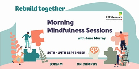Morning Mindfulness Sessions with Jane Murray tickets