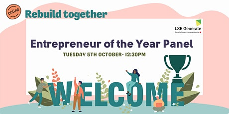Welcome Week - Entrepreneur of the Year Panel tickets