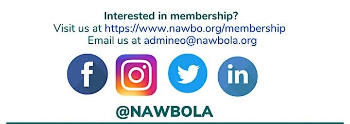 NAWBO-LA Business Fundamentals Workshop: The Power Of Capital image