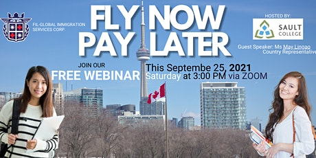 Free Webinar for FLY NOW PAY LATER Program For Sault College Canada tickets