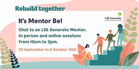 It's Mentor Be!  In person tickets