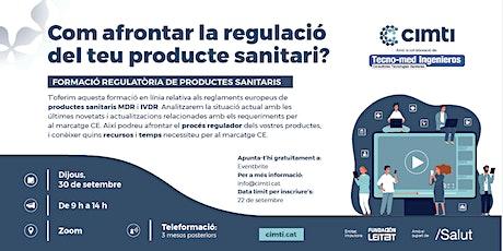Com afrontar la regulació del teu producte sanitari? entradas