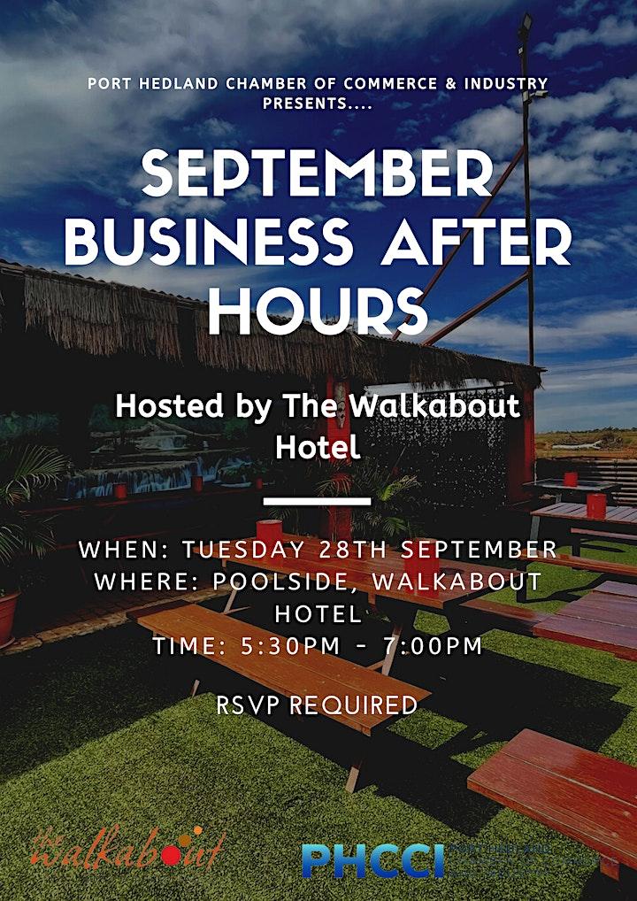 September Business After Hours image