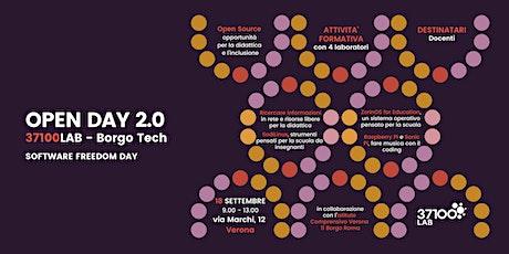 OPEN DAY 2.0 - 37100Lab Borgo Tech - Software Freedom Day (18 settembre) biglietti