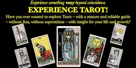 Experience Tarot!  Learn tarot basics and get a reading from an expert. tickets