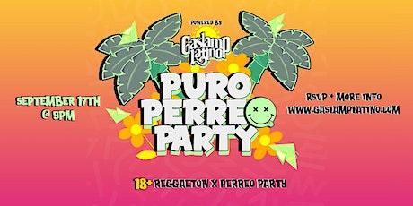 18+ Puro Perreo Party tickets