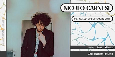 Nicolò Carnesi in concerto biglietti