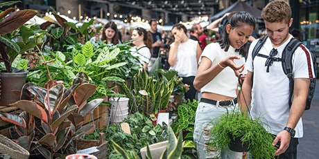Green Rooms Plant market at Canopy Market, King's Cross tickets