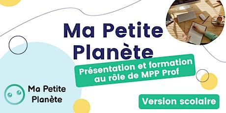 Webinaire de présentation et formation au jeu MPP Scolaire billets